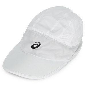 ASICS STRAIGHT SETS TENNIS CAP WHITE