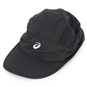 ASICS STRAIGHT SETS TENNIS CAP BLACK