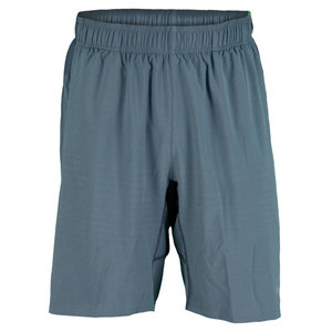 NIKE MENS GLADIATOR 2 IN 1 9 INCH SHORT GRAY