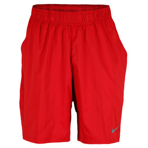 NIKE MENS ALL COURT TENNIS SHORT RED