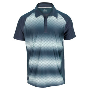 NIKE MENS ADVANTAGE UV GRAPHIC TENNIS POLO