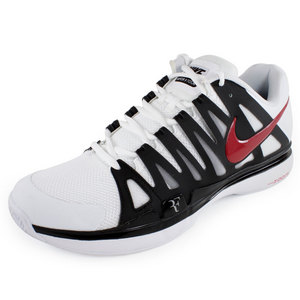 NIKE MENS ZOOM VAPOR 9 TOUR SHOES WH/BK