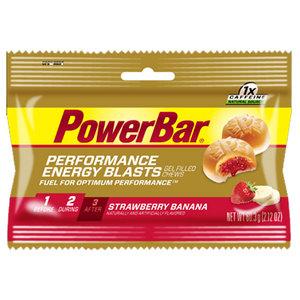 POWERBAR PERFORMANCE ENERGY BLASTS STRAW BANANA