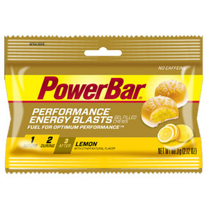 POWERBAR PERFORMANCE ENERGY BLASTS LEMON