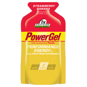 POWERBAR POWERGEL STRAWBERRY BANANA