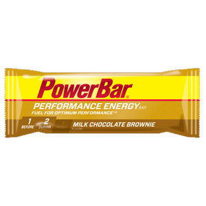 POWERBAR PERFORMANCE ENERGY MILK CHOCOLATE BROWNI