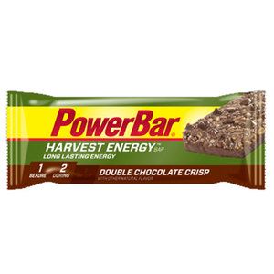 POWERBAR HARVEST ENERGY DOUBLE CHOCOLATE CRISP