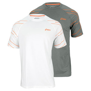 ASICS MENS COURT GRAPHIC TENNIS TEE