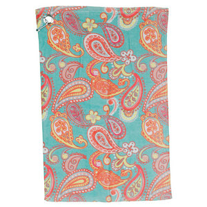 ALL FOR COLOR PAISLEY BREEZE SPORTS TOWELS 2 PACK