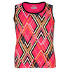 Girls` Baseline Printed Tennis Tank Pink by FILA