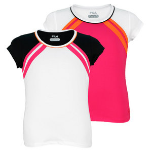FILA GIRLS BASELINE CAP SLEEVE TENNIS TOP
