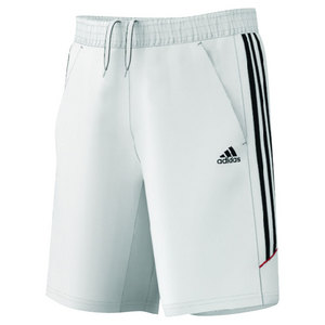 adidas MENS RESPONSE CLASSIC 9.5 IN SHORT WHITE