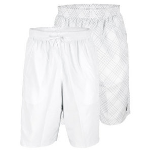 FILA MENS DOUBLES REVERSIBLE SHORT WHITE/BK
