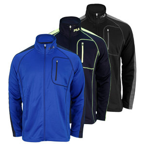 FILA MENS FULL ZIP LONG SLVE PERFORMANCE TOP