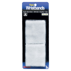 TOURNA THICK WRISTBAND WHITE
