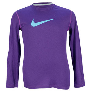 NIKE GIRLS LEGEND LONG SLEEVE TRAINING TOP
