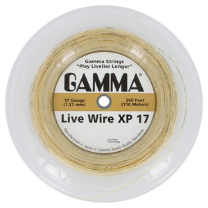 Live Wire XP 17G Tennis String Reel Natural
