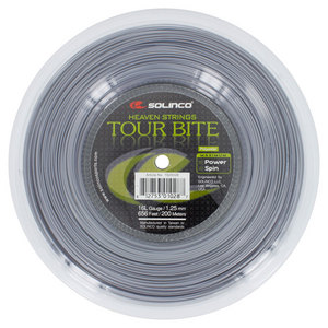 Tour Bite 16L Reel Tennis String Silver