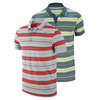 NIKE Men`s Vapor Touch Stripe Tennis Polo