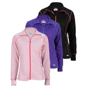 FILA WOMENS FULL ZIP PERFORMANCE TOP