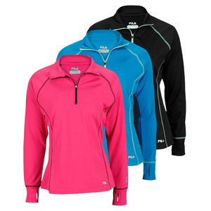FILA WOMENS 1/4 ZIP PERFORMANCE TOP