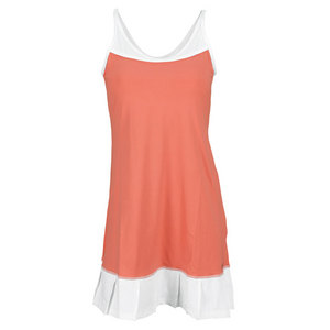 SOFIBELLA WOMENS BEAT CAMI TENNIS DRESS SUNSET