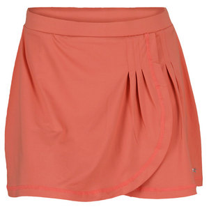 SOFIBELLA WOMENS BEAT 15 INCH TENNIS SKORT SUNSET