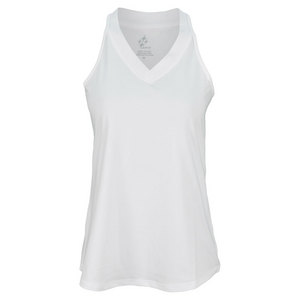 JOFIT WOMENS MANHATTAN BETSY TENNIS TANK WHITE