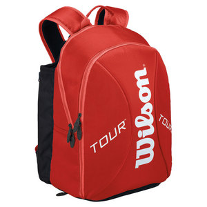 WILSON TOUR SMALL TENNIS BACKPACK RED