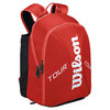 Tour Small Tennis Backpack Red by WILSON