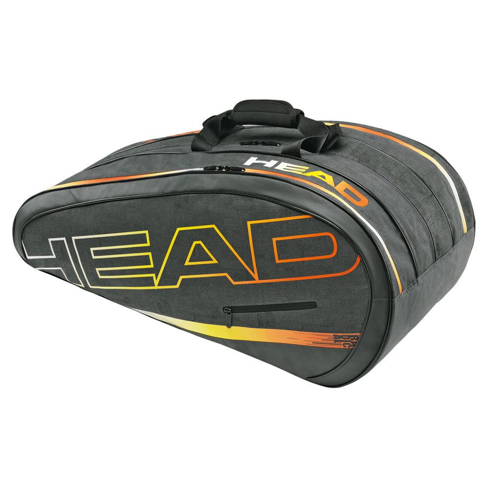 Radical Monstercombi Tennis Bag Gray And Orange