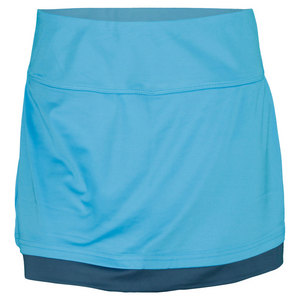 BOLLE WOMENS MOON DUST TENNIS SKORT BLUE