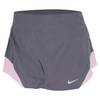 Women`s Dri Fit Heathered Woven Tennis Skirt Purple by NIKE