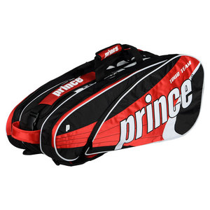 PRINCE TOUR TEAM 9 PACK TENNIS BAG RED