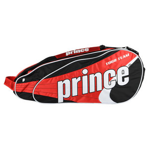 PRINCE TOUR TEAM 6 PACK TENNIS BAG RED