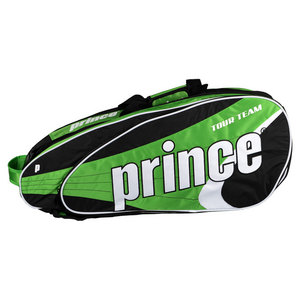 PRINCE TOUR TEAM 9 PACK TENNIS BAG GREEN