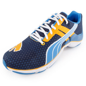 PUMA MENS MODIUM ELITE NM RUNNING SHOES NAVY
