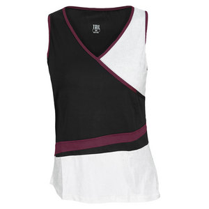 TAIL WOMENS DIVINE WINE BAYLEE TENNIS TANK BK