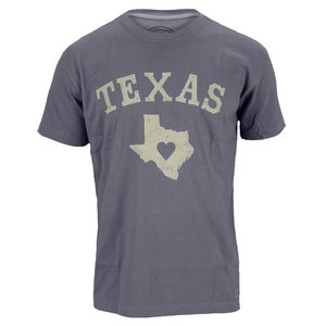 LIFE IS GOOD MENS TEXAS LOVE CRUSHER TEE TRUE BLUE