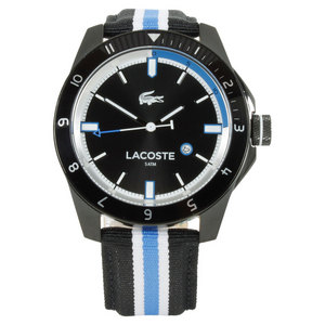 LACOSTE DURBAN WATCH BLACK AND BLUE