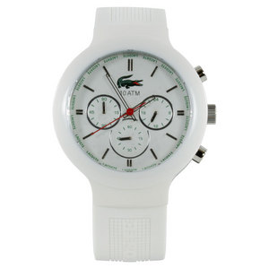LACOSTE BORNEO WATCH WHITE