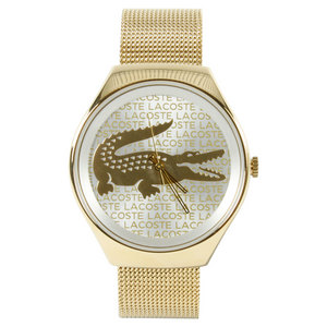 LACOSTE VALENCIA WATCH GOLD