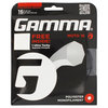 GAMMA Moto 16G With Grip Tennis String Black