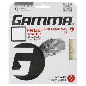 GAMMA LIVE WIRE PROF 17G W/GRIP STRING NAT