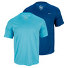 Men`s Challenger V Neck Running Tee by NIKE