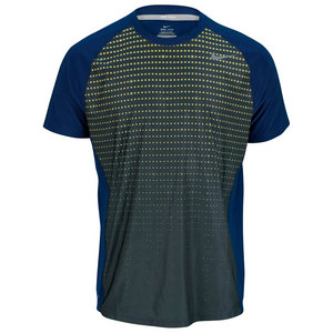 NIKE MENS ADVANTAGE UV GRAPHIC CREW NAVY