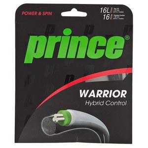 PRINCE WARRIOR HYBRID CONTROL TENNIS STRING BLK