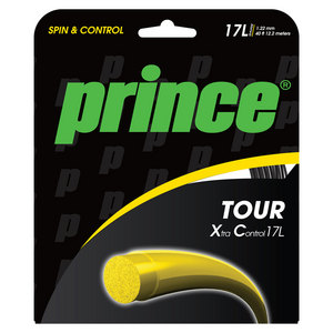 PRINCE TOUR XC 17L TENNIS STRING BLACK