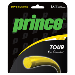 PRINCE TOUR XC 16L TENNIS STRING YELLOW