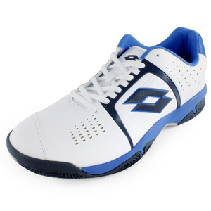 LOTTO MENS T-TOUR 600 TENNIS SHOES WH/BL
